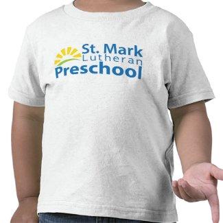 2T St. Mark Lutheran Preschool Logo Shirt