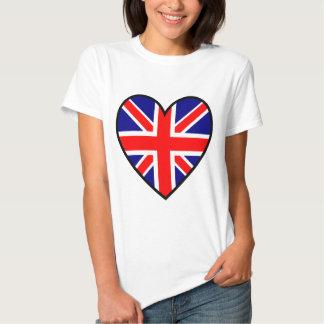 2unionjackheart T-Shirt
