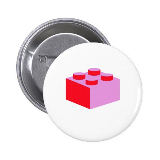 2x2 Brick by Customize My Minifig 2 Inch Round Button