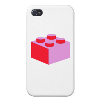 2x2 Brick by Customize My Minifig Cover For iPhone 4