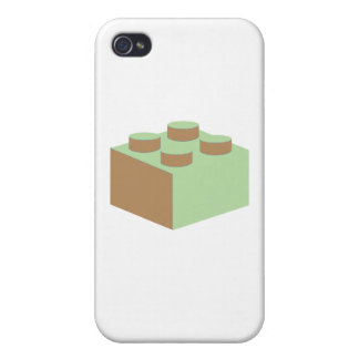 2x2 Brick by Customize My Minifig Covers For iPhone 4