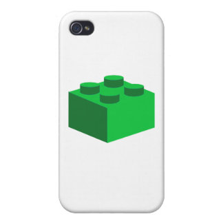 2x2 Brick by Customize My Minifig iPhone 4/4S Cases