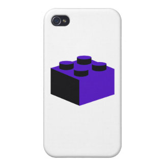 2x2 Brick by Customize My Minifig iPhone 4/4S Case