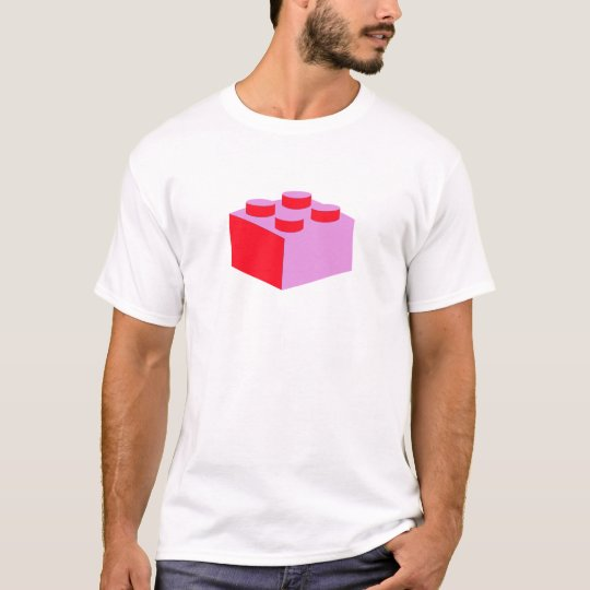 2x2 Brick by Customize My Minifig T-Shirt