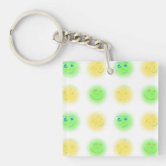 2x2 Little Faces YxG Keychain