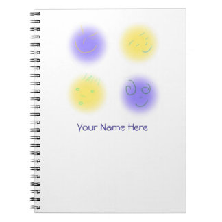 2x2 Little Faces YxP Note Book