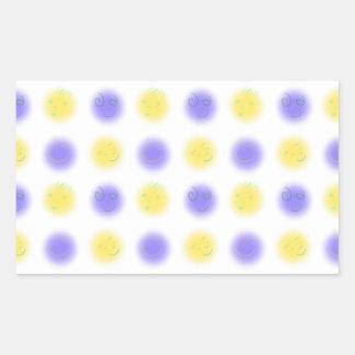 2x2 Little Faces YxP Rectangle Sticker