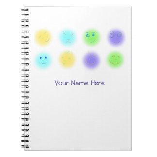 2x4 Little Faces A1 Spiral Notebooks