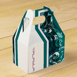 2X5X4.5 INCH GABLE END DESIGN IN GREENS FAVOR BOX