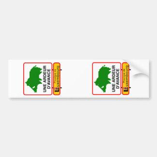 2x STICKER CONVEYS adjustable (registration) Car Bumper Sticker
