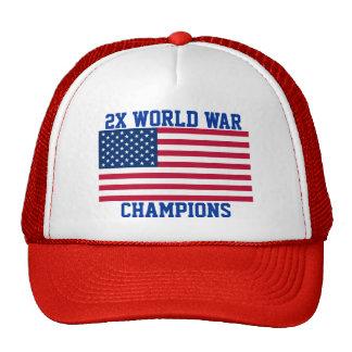 2x World War Champions hat