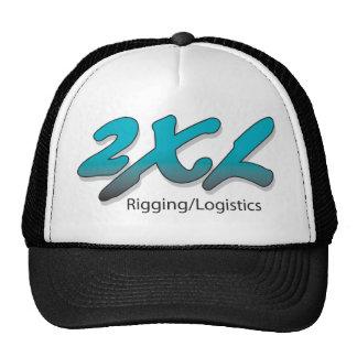 2XL Inc. Black Truckers Cap Trucker Hat