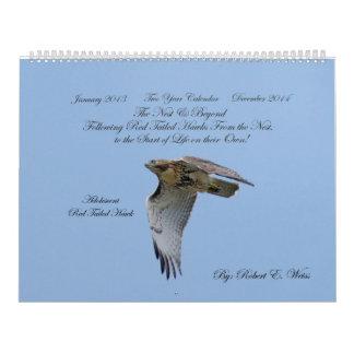 2yr. calendar/hawk development/ Robert E. Weiss