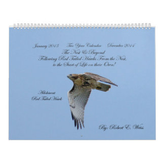 2yr. calendar/hawk development/ Robert E. Weiss Calendar