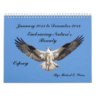 2yr. Pájaros deplicting del calendario que comienz