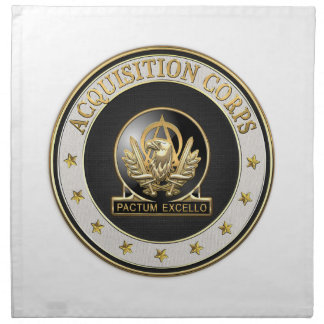 [300] Acquisition Corps (AAC) Regimental Insignia Napkin