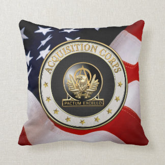 [300] Acquisition Corps (AAC) Regimental Insignia Pillow