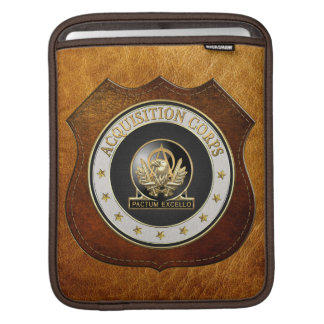 [300] Acquisition Corps (AAC) Regimental Insignia Sleeves For iPads