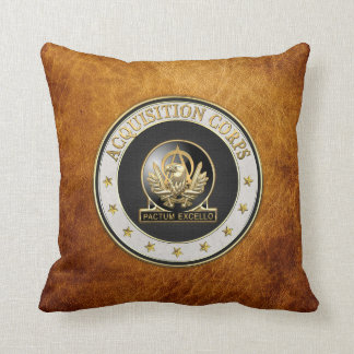 [300] Acquisition Corps (AAC) Regimental Insignia Throw Pillow