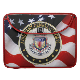 [300] AG Corps Regimental Insignia [3D] MacBook Pro Sleeve