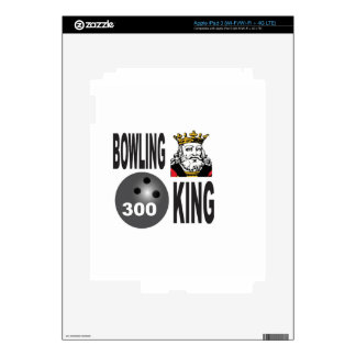 300 bowling king iPad 3 decals