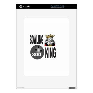 300 bowling king iPad decal
