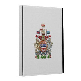 [300] Canada Coat of Arms [3D] iPad Case