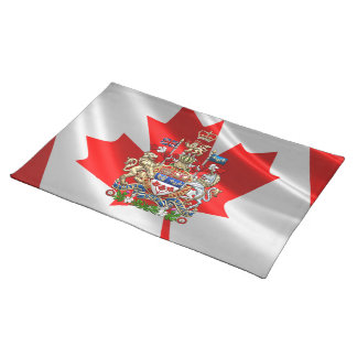 [300] Canada Coat of Arms [3D] Placemat