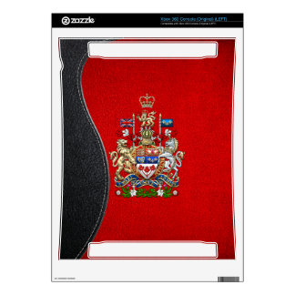 [300] Canada Coat of Arms [3D] Xbox 360 Console Decals
