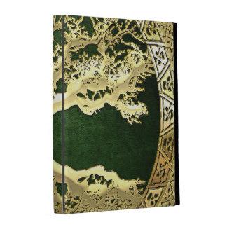 [300] Celtic Tree of Life [Gold] iPad Folio Case