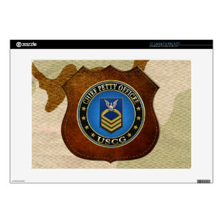 [300] CG: Chief Petty Officer (CPO) Decal For Laptop