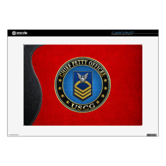 [300] CG: Chief Petty Officer (CPO) Decals For Laptops