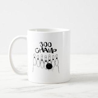 300 Champ Classic White Coffee Mug