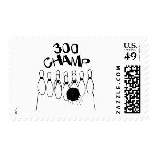 300 Champ Stamp