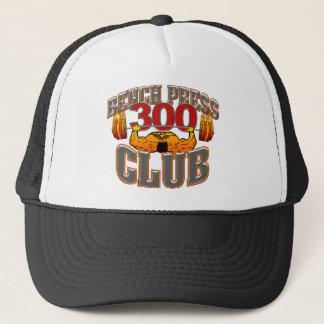 300 Club Bench Press Hat