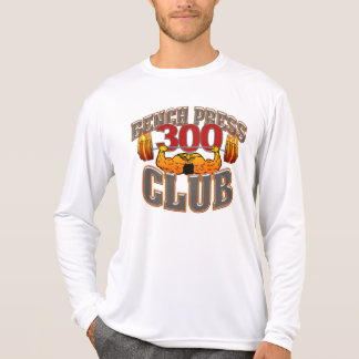 300 Club Bench Press Long Sleeve Micro T Shirt