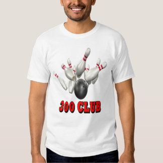 300 Club Bowling Tee Shirt