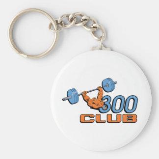 300 Club Key Chain