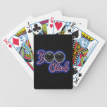 300 CLUB - PERFECT GAME IN BOWLING (BLUE) BICYCLE PLAYING CARDS