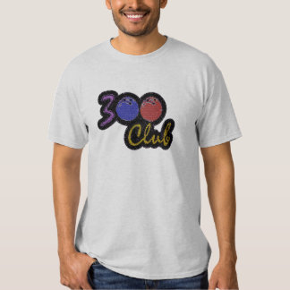 300 CLUB PERFECT GAME IN BOWLING T-SHIRT