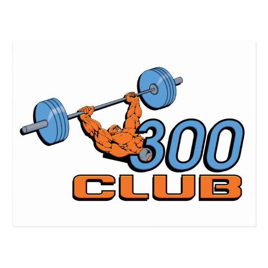300 Club Postcard