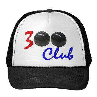 300 club - regalo perfecto del juego de los bolos gorras