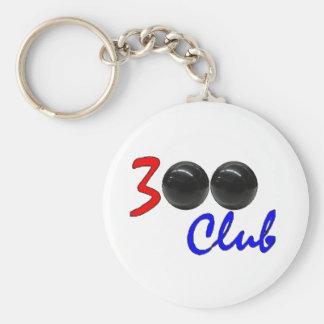 300 club - regalo perfecto del juego de los bolos llavero