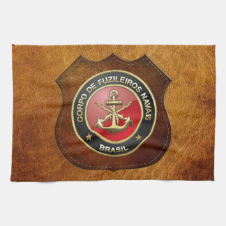 [300] Corpo De Fuzileiros Navais [Brasil] (CFN) Kitchen Towel
