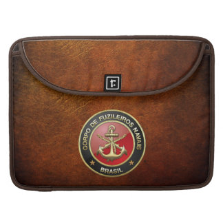 [300] Corpo De Fuzileiros Navais [Brasil] (CFN) Sleeve For MacBook Pro