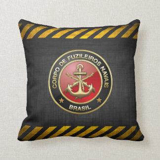 [300] Corpo De Fuzileiros Navais [Brasil] (CFN) Throw Pillow