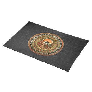 [300] Egyptian Sun God Ra Cloth Placemat