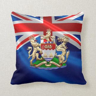 [300] Escudo de armas histórico 1959-1997 de Hong Cojín Decorativo