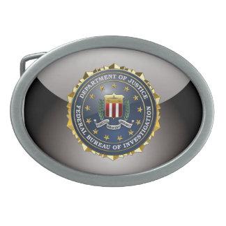 [300] FBI Special Edition Oval Belt Buckle