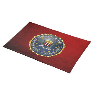 [300] FBI Special Edition Placemat